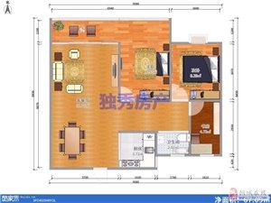 和家园电梯毛坯房+大三居室+南北通透+环境美适合居