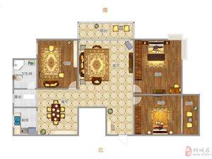金瑞名城3室2厅1卫豪装,双学期房,幼,小,中
