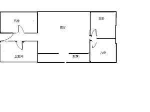 【玛雅精品推荐】紫轩三期3室2厅1卫69万