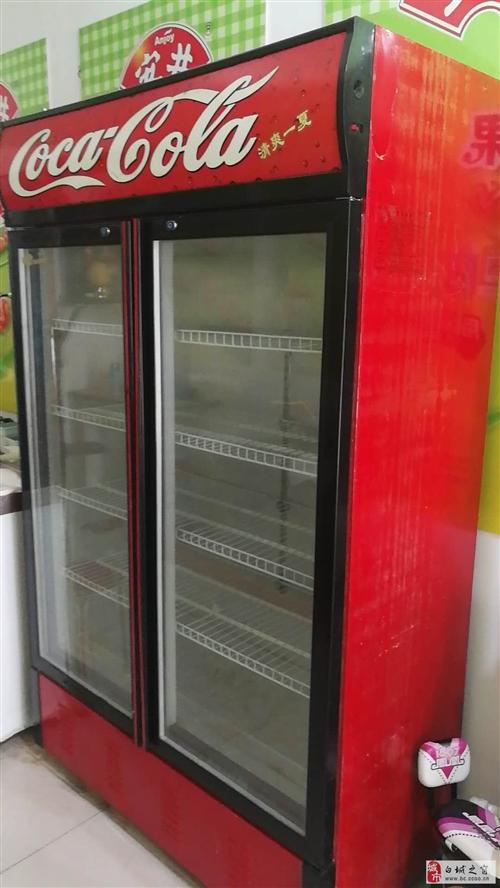 出卖9成新冰箱展示柜