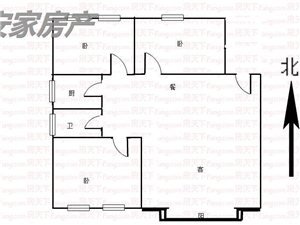 蓝湾半岛3室2厅1卫52万元