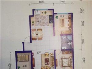 3800平急售恒泰16楼3室127平稀缺房源49万
