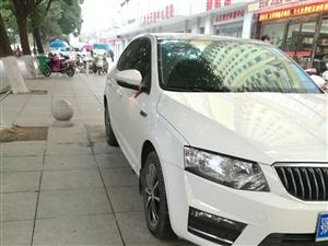 準新車,低價轉讓17款斯柯達明銳自動智行