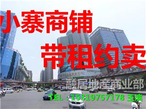 西安市小寨地铁口商铺+20至50平米+带租约可贷款