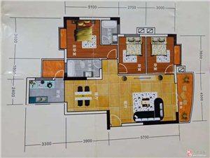 从文广场3室 2厅 2卫45万元