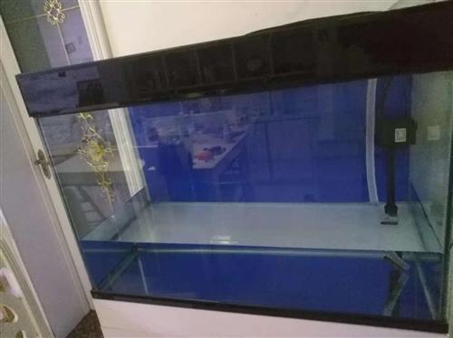 出售上濾魚缸一個,尺寸長*寬*高90*41*75