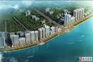 西岸悦湾99平米中层电梯毛坯三房售61.6万
