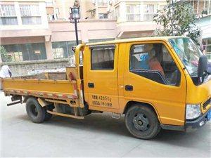 本人有一辆,双排座江铃凯锐货车