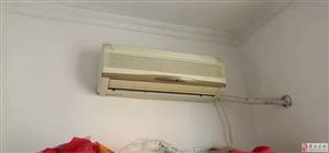 空调低价出售350元自己拆