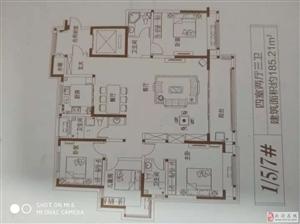 湖心佳苑142平185平4室2厅2卫