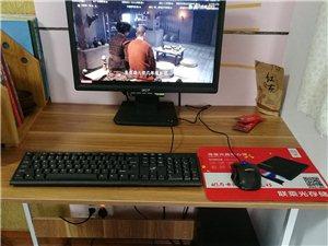 四核游戏电脑主机一套带显示器
