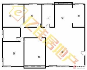 万基花园4室2厅2卫158平,毛坯85万元