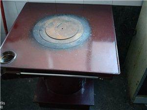 烤火炉子(烧煤球的)带烤箱