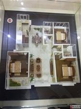 上元名城3室2厅1卫43万元