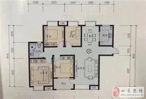 昌时代136平米毛坯4室2厅1卫117万元无大税
