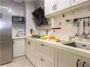 廚房裝修案例,裝成這樣真的太美了!后悔我家沒這樣裝