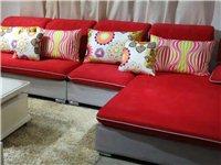 出售高档布艺沙发一套