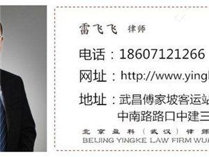 武汉品牌律师事务所民商事律师