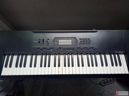 澳门博彩官方网址9成新卡西欧CTK-2000电子琴一台
