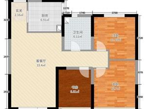 碧桂园31楼东边户+温馨3房+南北通透视野超好