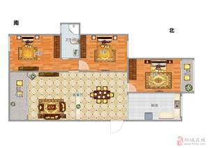 高性价比上和家园全新毛坯电梯三房边户南北通透环境优