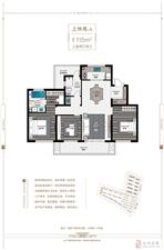上林苑-A 115平米三室两厅两卫