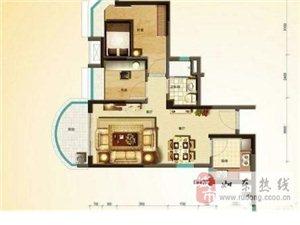 碧桂园高/30毛坯2室2厅1卫78平米69万元