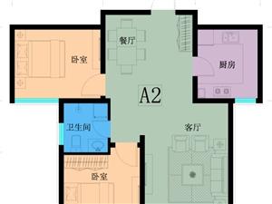 万泰鑫城嘉园2室2厅1卫85万元