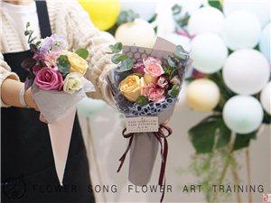 花之歌花艺培训重庆专业插花培训,婚礼花艺学习