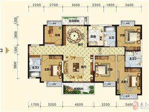 超高性价比电梯房5室2厅3卫86.3万元