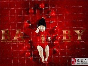 临泉格林童趣儿童摄影专业宝宝照百天照摄影