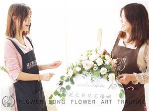 重庆花艺培训,花之歌20天助你从小白变身专业花艺师