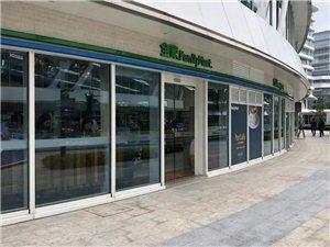 绿地世界中心花瓣沿外街一楼餐饮铺,年租金11万