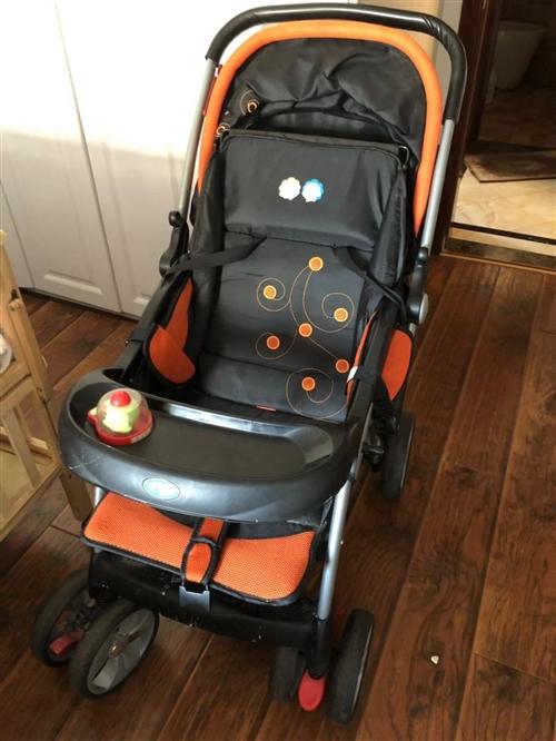 出售7-8成新嬰兒車