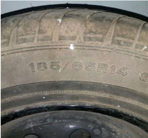 五菱宏光轮胎一个,185/65/14型号