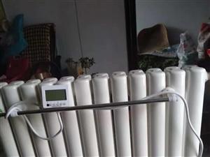 出售装水电暖气一台