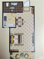 花溪一号院2室1厅1卫70万元