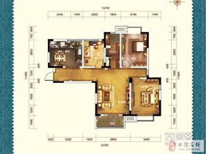 剑桥港湾113.57平三室通厅可贷款