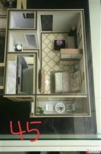 御峰佳苑1室1厅1卫18万元