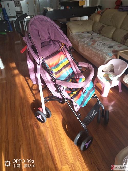 9成新婴儿车