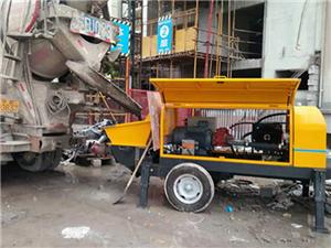 砂漿泵水泥細石混凝土泵的使用3點操作要點,你值得擁