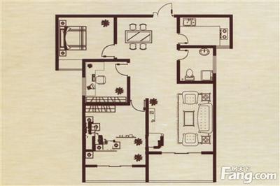 3室2厅2卫厨,建筑面积:111.25�O