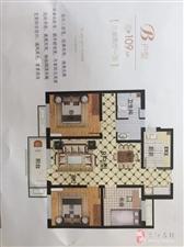 元信济北郡3室2厅1卫69万元