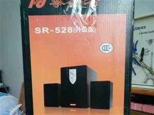 全新音箱,买来闲置,包装完好,现便宜处理