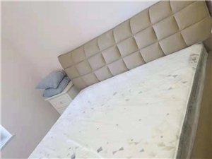 全新诗尼曼1.8米皮床、床垫对外出售