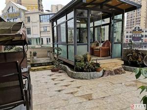 西城国际1期豪装3室2厅2卫送80平米花园假山