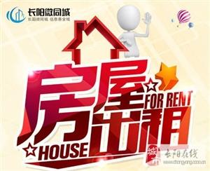 长阳新华书店四楼(人民医院大门旁)两室一厅住房出租!