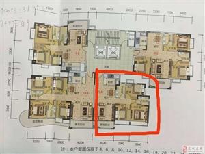 沿江西岸3室2厅2卫76.6万元