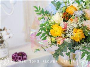 重慶花藝培訓,花之歌花藝零基礎全職花藝培訓