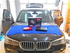 BMW宝马X3改装主动三分频音响系统济宁市邹城大班